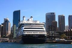Het Schip SS Zaandam van de cruise in Haven Syndey stock afbeelding