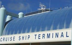 Het Schip Terninal van de cruise Royalty-vrije Stock Fotografie