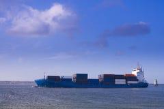 Het schip van containers Royalty-vrije Stock Fotografie