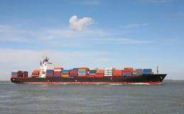Het schip van de container Royalty-vrije Stock Foto's