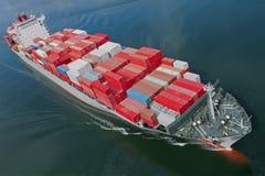 Het Schip van de container Royalty-vrije Stock Fotografie