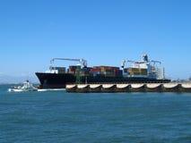 Het schip van de container Royalty-vrije Stock Foto