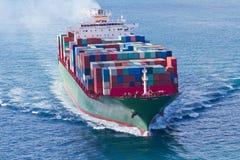 Het Schip van de container stock afbeeldingen