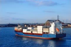 Het schip van de container Stock Fotografie