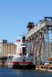 Het Schip van de container Royalty-vrije Stock Afbeeldingen