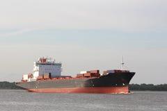 Het Schip van de Container van de Rivier van Fraser stock fotografie