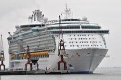 Het schip van de cruise Stock Afbeeldingen