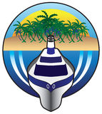 Het schip van de cruise royalty-vrije illustratie
