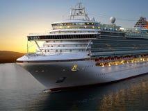 Het schip van de cruise. Royalty-vrije Stock Afbeelding