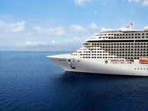 Het schip van de cruise. Stock Afbeelding