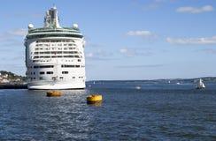 Het Schip van de cruise Royalty-vrije Stock Fotografie