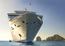 Het schip van de cruise. Cabo San Lucas. Mexico Royalty-vrije Stock Foto