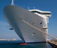 Het schip van de cruise, Rhodos Stock Foto