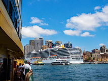 Het Schip van de cruise, Sydney, Australië Stock Foto's