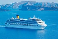 Het Schip van de Cruise van de luxe Stock Afbeelding