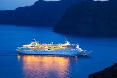 Het Schip van de Cruise van de luxe royalty-vrije stock afbeeldingen