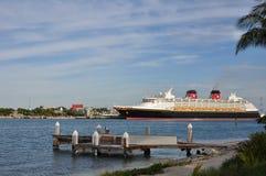 Het Schip van de Cruise van Disney Royalty-vrije Stock Fotografie