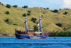 Het schip van de Komodocruise Royalty-vrije Stock Afbeeldingen