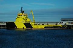 Het schip van de levering royalty-vrije stock foto's