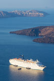Het schip van de luxecruise Stock Foto's