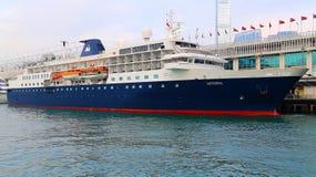 Het schip van de luxecruise Royalty-vrije Stock Foto
