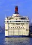 Het schip van de luxecruise Stock Foto