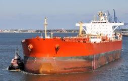 Het schip van de olie Royalty-vrije Stock Foto's