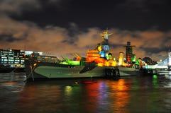 Het schip van de oorlog Stock Afbeeldingen
