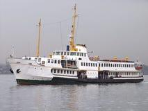 Het schip van de passagier Stock Afbeeldingen