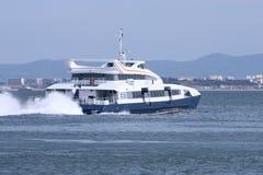 Het schip van de passagier Stock Foto's