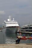Het schip van de passagier C.COLUMBUS Royalty-vrije Stock Foto