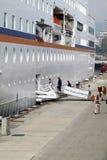Het schip van de passagier C.COLUMBUS Stock Afbeelding
