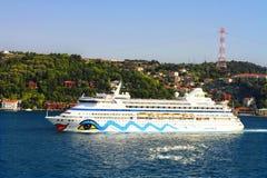 Het Schip van de Passagier van de luxe stock foto
