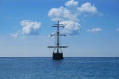 Het Schip van de piraat Stock Afbeeldingen