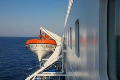 het schip van de reddingsboot Stock Afbeelding