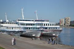 Het schip van de riviercruise Royalty-vrije Stock Afbeelding