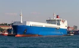 Het Schip van de ro/ro Royalty-vrije Stock Afbeelding