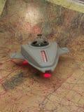 Het Schip van de Verkenner van het UFO Stock Fotografie