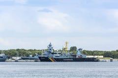 Het Schip van de visserijpatrouille Seeadler Royalty-vrije Stock Afbeelding