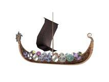 Het Schip van Drakkar Stock Afbeeldingen