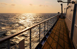 Het schip van het dek Royalty-vrije Stock Fotografie