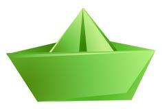 Het schip van het document vector illustratie