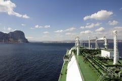Het schip van het LNG voor aardgas Royalty-vrije Stock Afbeelding
