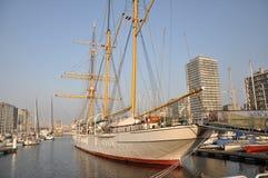 Het schip van het Mercatorzeil stock fotografie