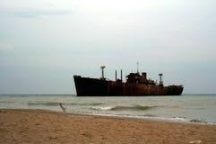 Het schip van het spook Stock Foto's