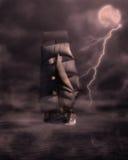 Het schip van het spook royalty-vrije illustratie