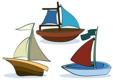 Het schip van het stuk speelgoed stock illustratie