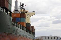Het Schip van het vervoer stock fotografie