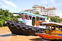 Het schip van het vervoer Stock Foto
