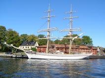 Het schip van het zeil Royalty-vrije Stock Afbeeldingen